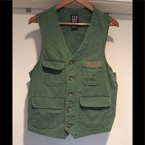 Green GAP Utility Vest